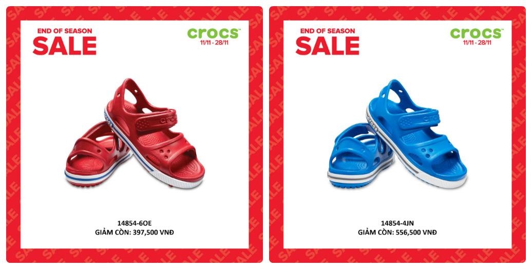 Crocs giảm giá đến 50% hàng ngàn sản phẩm hot tại các cửa hàng trên toàn quốc - Ảnh 6.