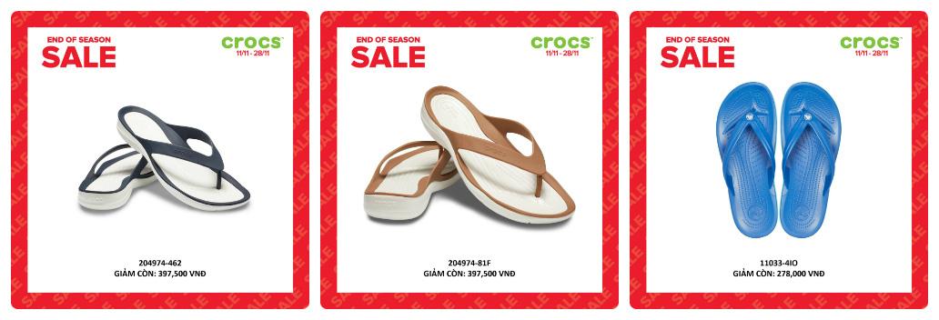 Crocs giảm giá đến 50% hàng ngàn sản phẩm hot tại các cửa hàng trên toàn quốc - Ảnh 9.