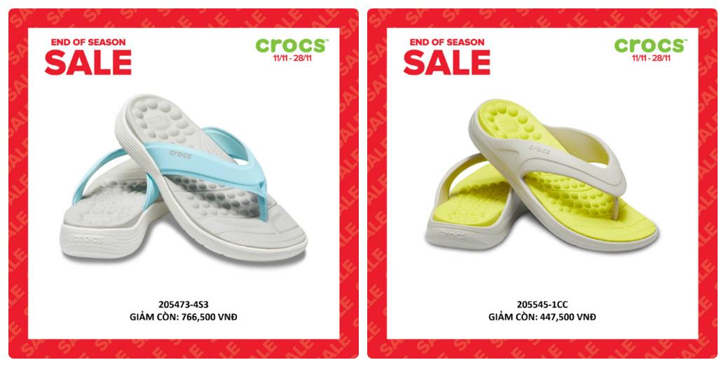 Crocs giảm giá đến 50% hàng ngàn sản phẩm hot tại các cửa hàng trên toàn quốc - Ảnh 10.