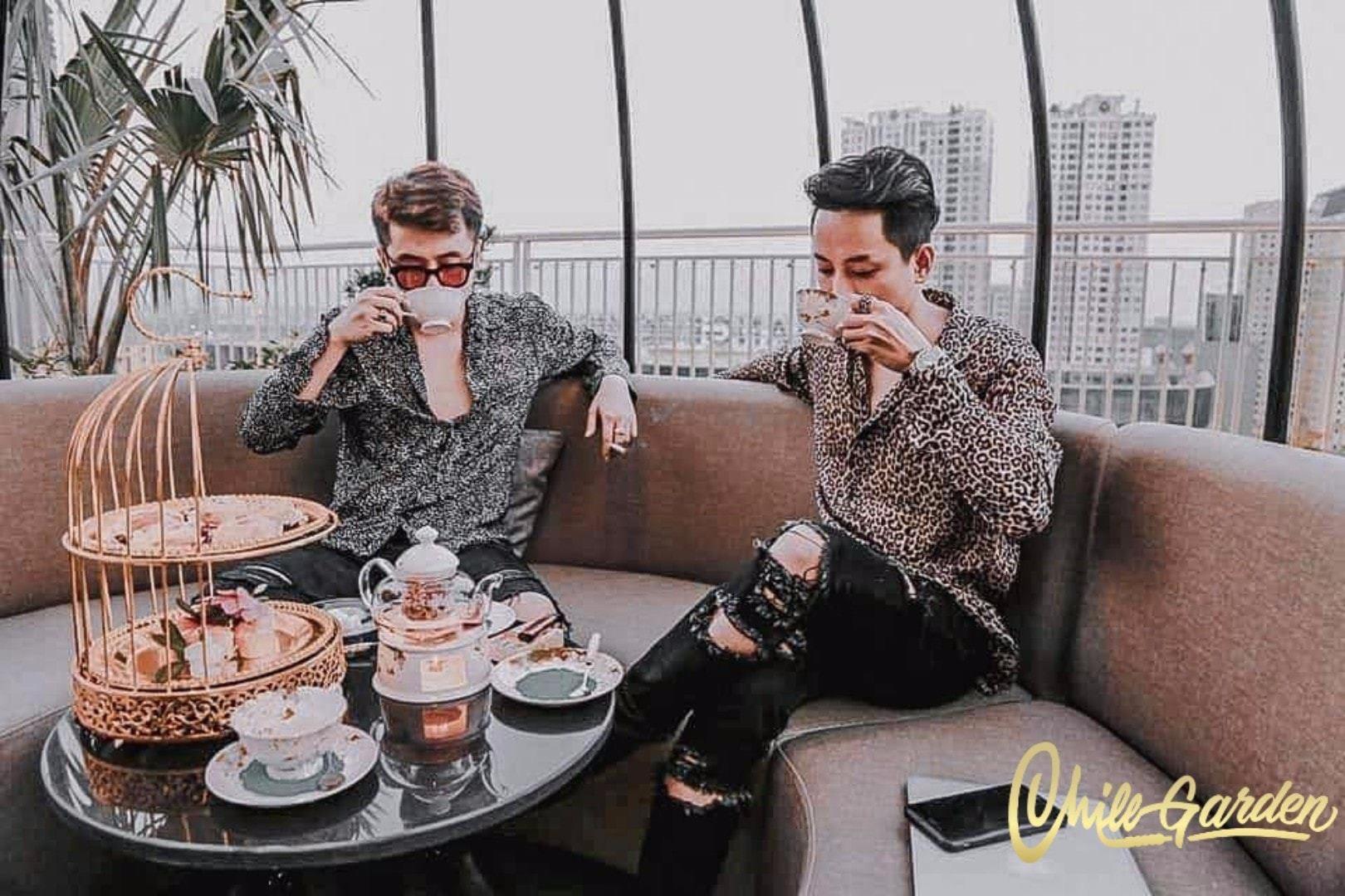 """Rủ nhau đi """"chill"""" trong vườn treo Babylon thu nhỏ """"view triệu đô"""" tại trung tâm Sài Gòn - Ảnh 5."""