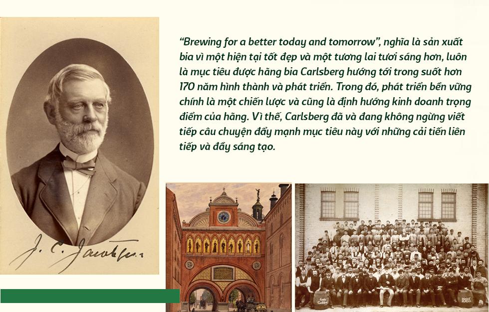 Bia Carlsberg hành trình phát triển bền vững hơn 170 năm - Ảnh 1.