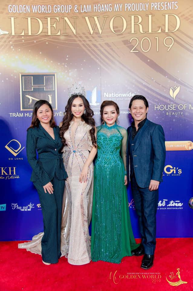 Dấu ấn phía sau sự thành công của cuộc thi Miss/Mrs Golden World Beauty Pageant - Ảnh 2.