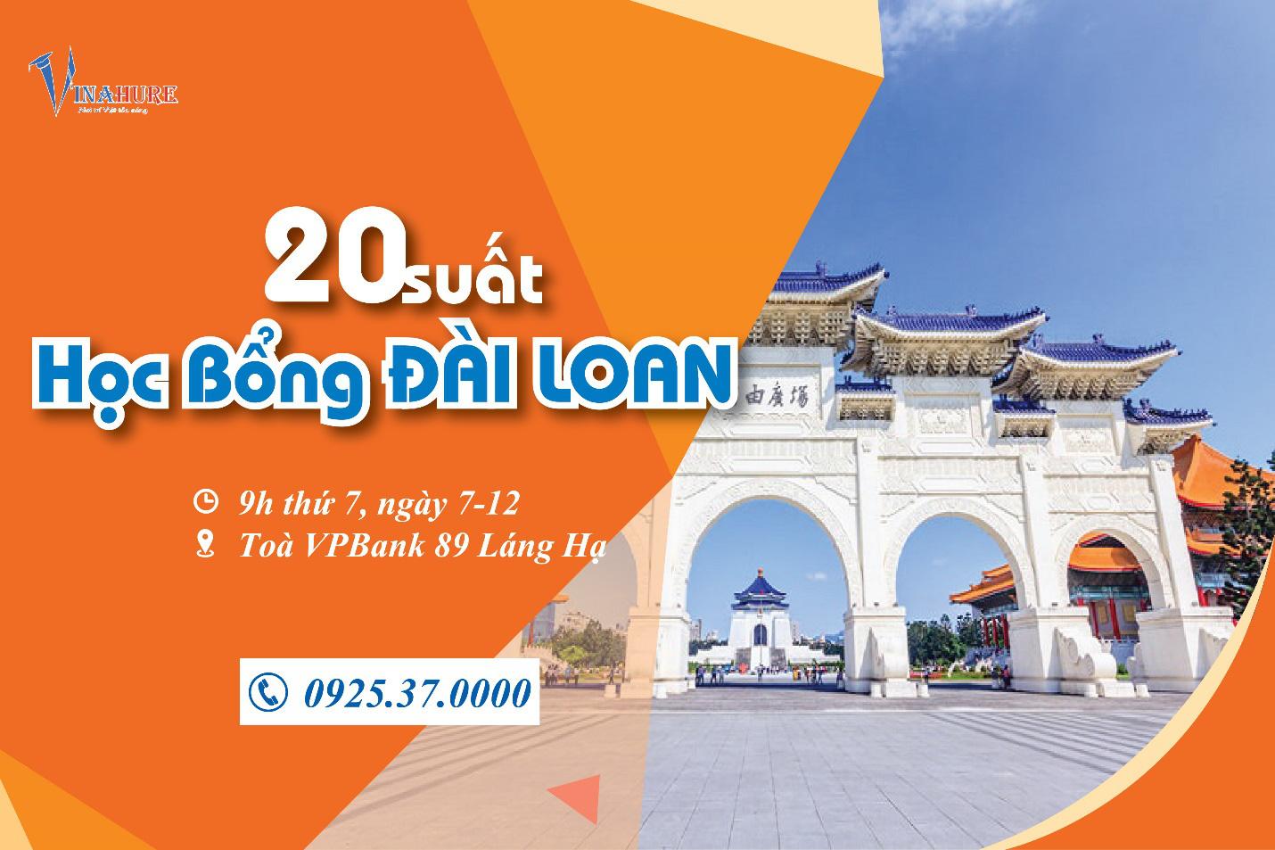 Giới thiệu 20 suất học bổng du học Đài Loan 2020 - Ảnh 1.