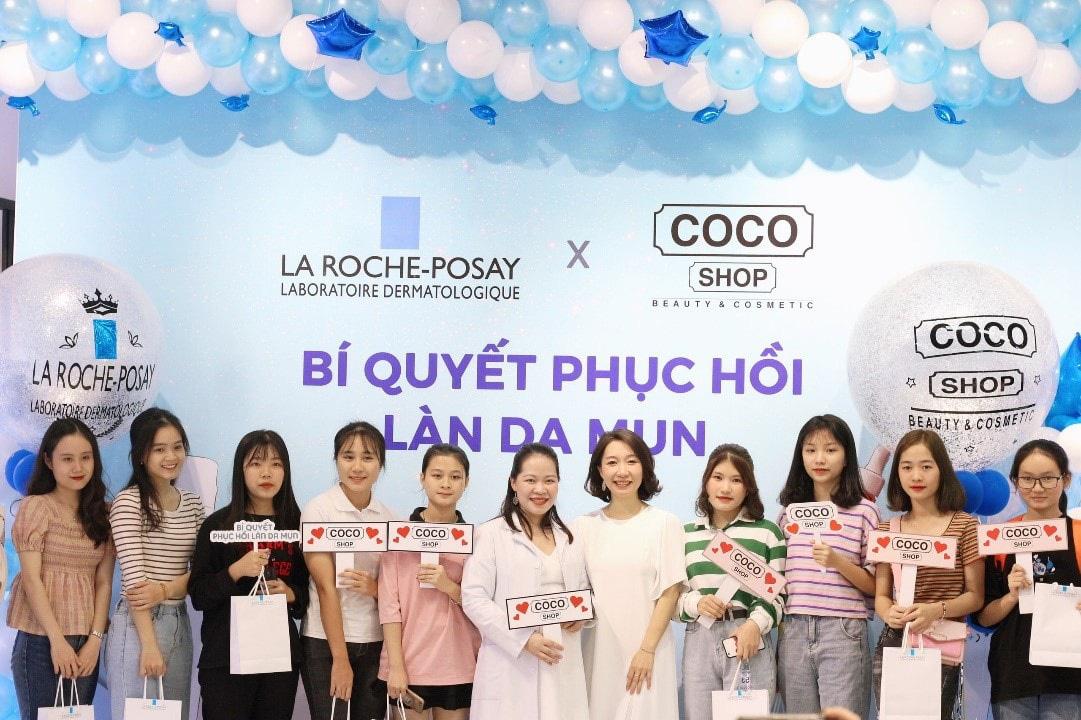 """""""Vỡ trận"""" tại sự kiện chăm sóc da của thương hiệu mỹ phẩm Coco Shop và La Roche-Posay - Ảnh 2."""