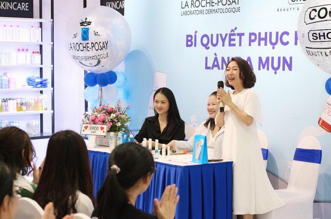 """""""Vỡ trận"""" tại sự kiện chăm sóc da của thương hiệu mỹ phẩm Coco Shop và La Roche-Posay - Ảnh 5."""