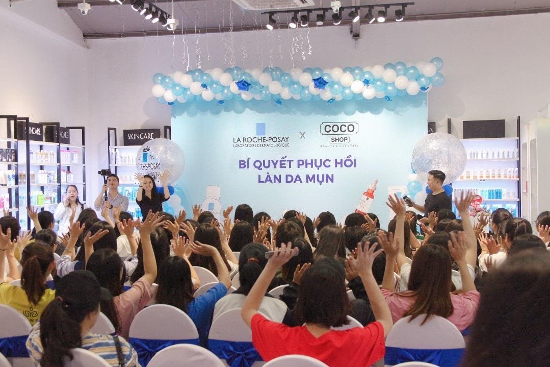 """""""Vỡ trận"""" tại sự kiện chăm sóc da của thương hiệu mỹ phẩm Coco Shop và La Roche-Posay - Ảnh 7."""