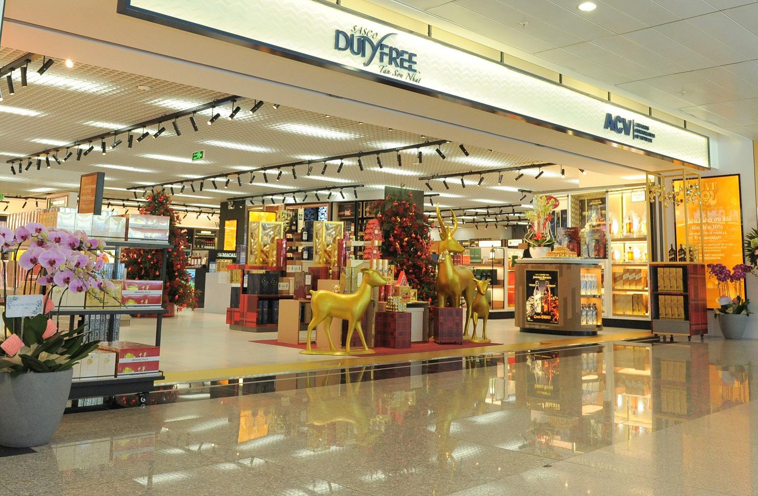 Khám phá cửa hàng miễn thuế bậc nhất sân bay quốc tế Tân Sơn Nhất - Ảnh 1.