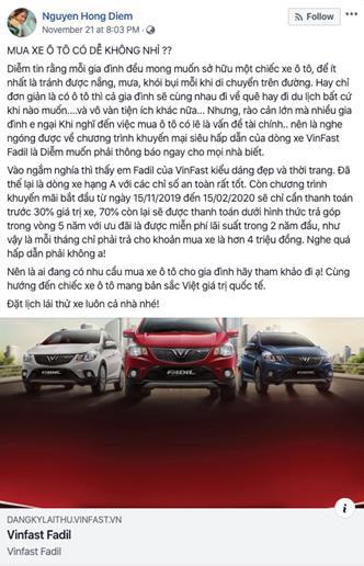 VinFast ưu đãi 'tất tay', sao Việt: 'Mua ngay đừng chờ' - Ảnh 5.