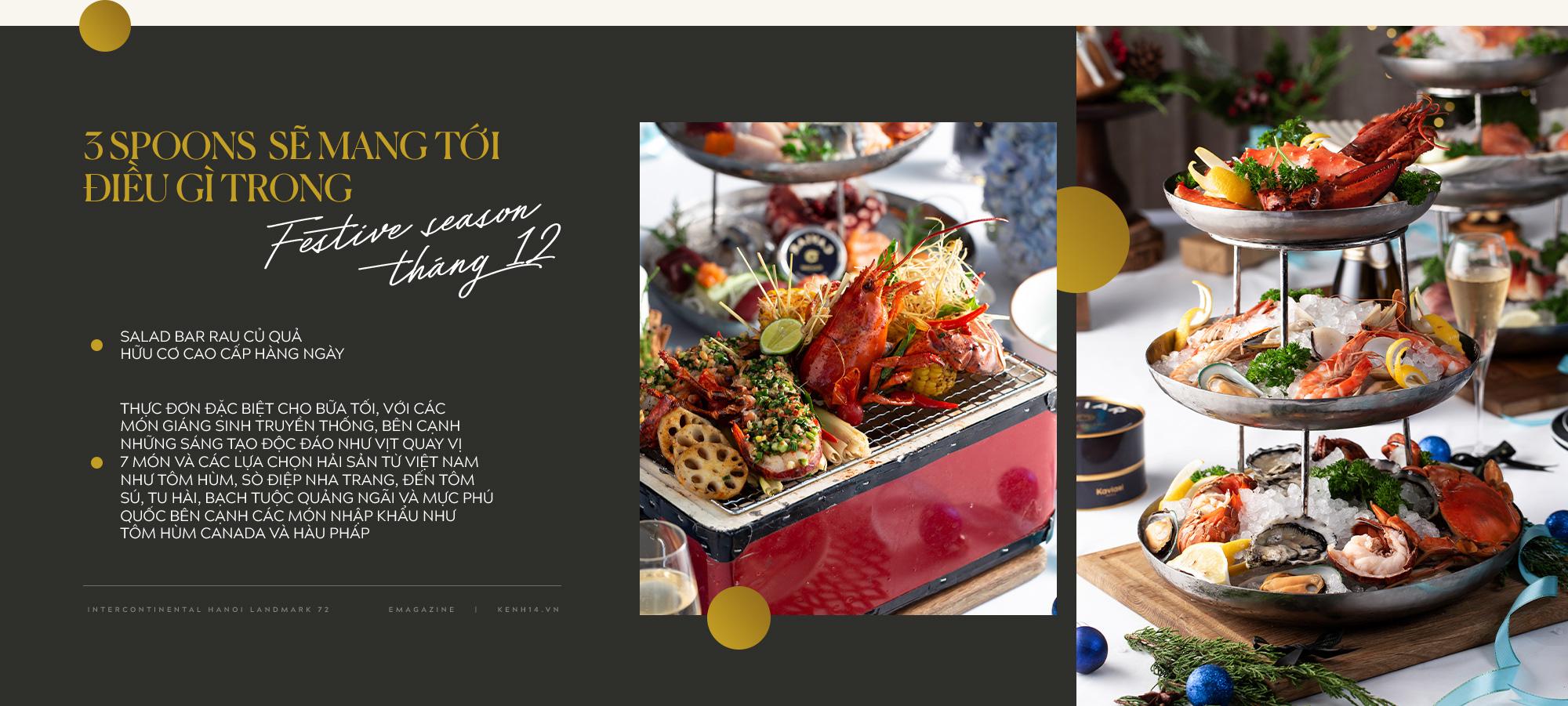 """""""Bữa tiệc trên mây"""" mùa lễ hội: Nâng tầm trải nghiệm ẩm thực với mọi giác quan tại InterContinental Hanoi Landmark72 - Ảnh 9."""