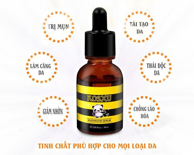 Quá trình ngăn ngừa mụn và phục hồi làn da hư tổn của serum Kosxu - Ảnh 3.