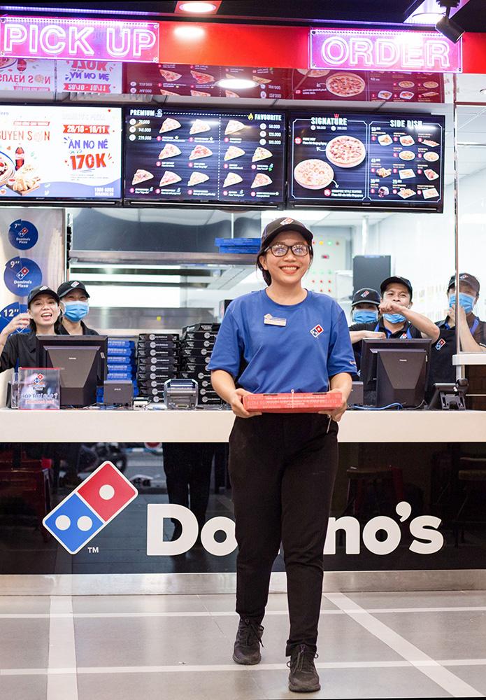 Domino's Pizza tiên phong công nghệ thử nghiệm giao hàng bằng thiết bị bay không người lái - Ảnh 1.