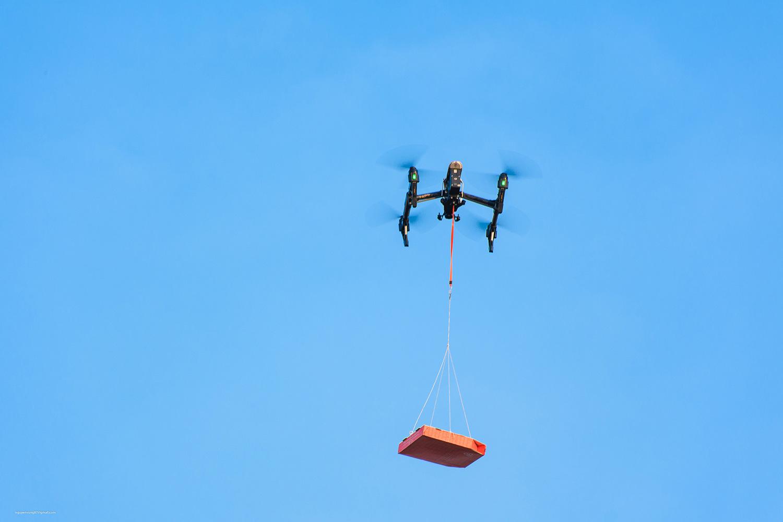 Domino's Pizza tiên phong công nghệ thử nghiệm giao hàng bằng thiết bị bay không người lái - Ảnh 4.