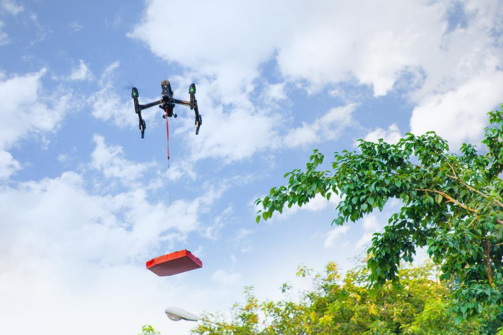 Domino's Pizza tiên phong công nghệ thử nghiệm giao hàng bằng thiết bị bay không người lái - Ảnh 5.