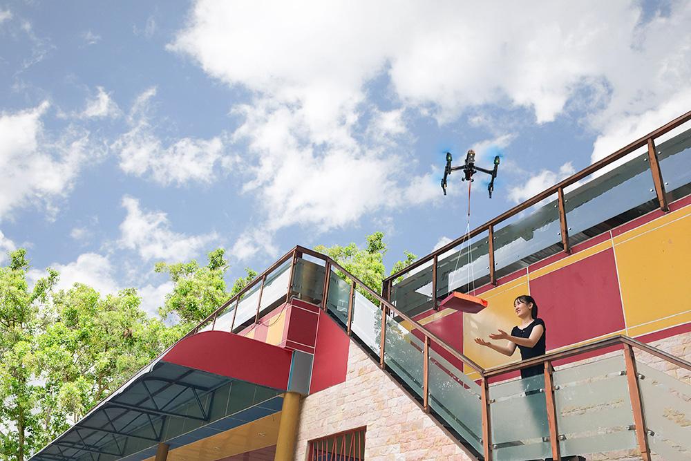 Domino's Pizza tiên phong công nghệ thử nghiệm giao hàng bằng thiết bị bay không người lái - Ảnh 6.