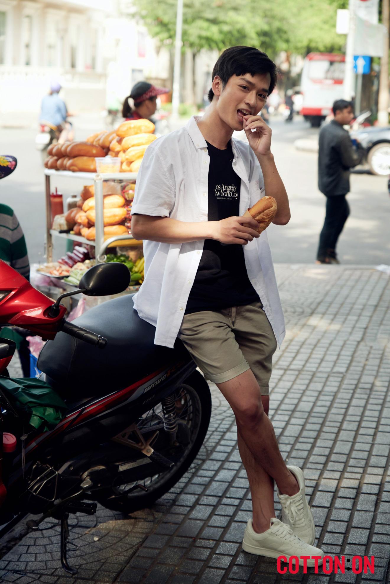 Hoàng Yến, Trần Nghĩa và Hồ Thu Anh trẻ trung với thời trang quốc tế đến từ Úc - COTTON:ON - Ảnh 2.