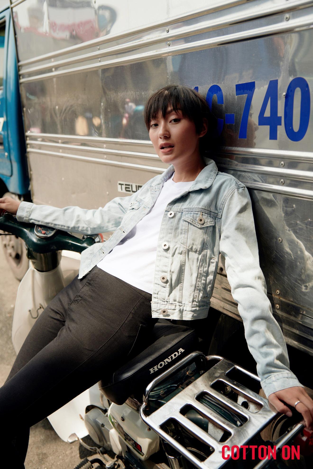 Hoàng Yến, Trần Nghĩa và Hồ Thu Anh trẻ trung với thời trang quốc tế đến từ Úc - COTTON:ON - Ảnh 3.