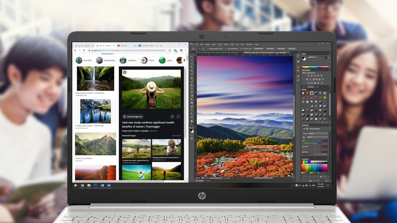 """HP 15s-du0068TX - Chiếc laptop mỏng nhẹ, cấu hình mạnh mẽ với mức giá siêu """"hời'' dành cho các bạn học sinh, sinh viên - Ảnh 3."""