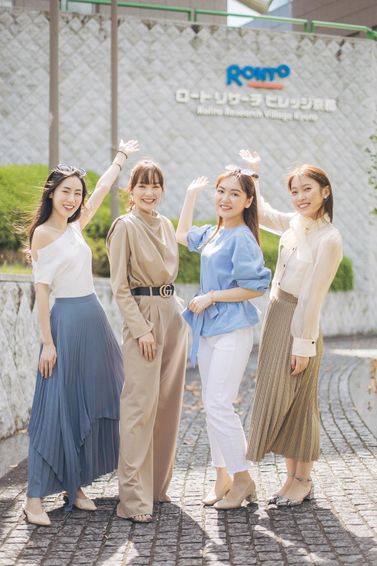 Nhân vật đặc biệt cùng dàn Beauty Vlogger nổi tiếng ghé thăm phòng nghiên cứu Rohto tại Nhật Bản là ai? - Ảnh 1.