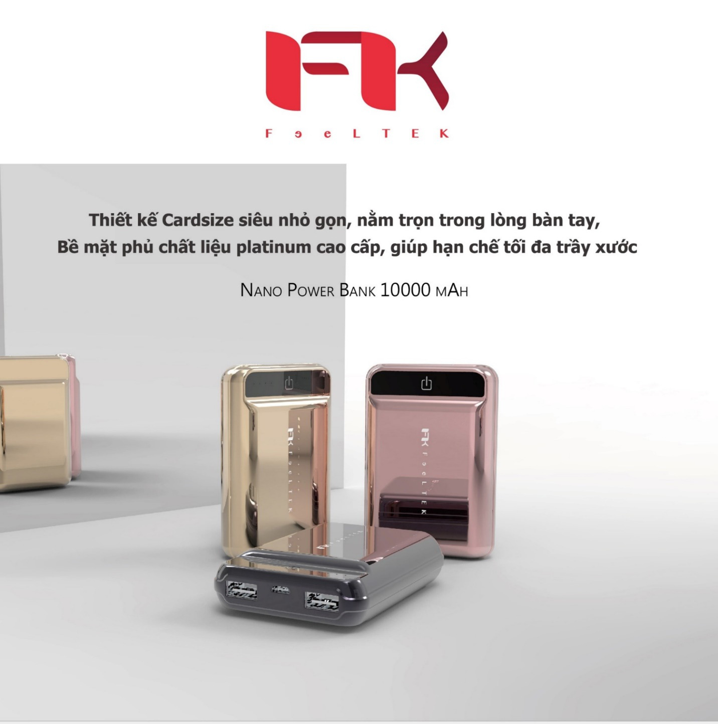 Nano Power Bank Feeltek – Trải nghiệm công nghệ với thiết kế hoàn hảo - Ảnh 1.