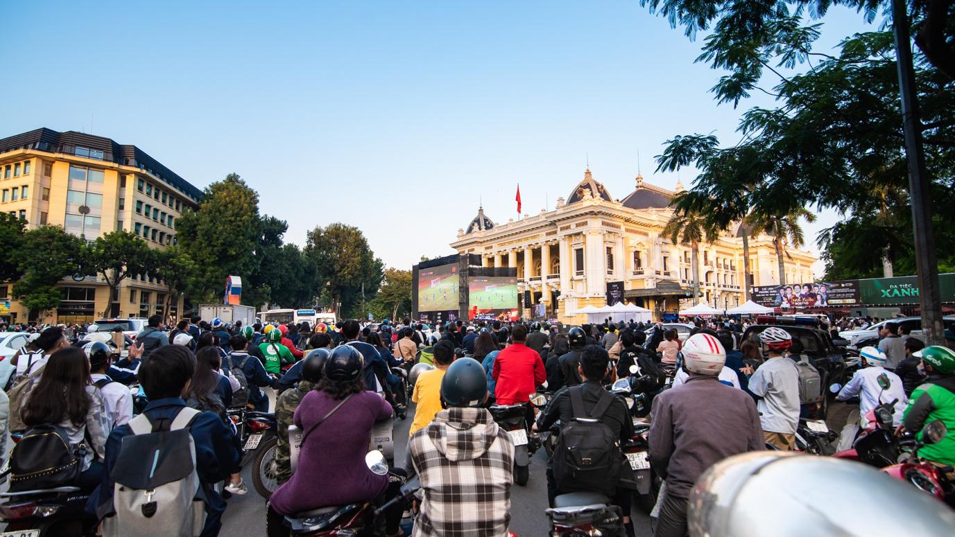 Tối nay, Hà Nội mở đại tiệc bóng đá trước Nhà hát Lớn, chờ U22 bất bại rinh vàng lịch sử! - Ảnh 5.