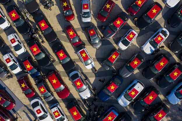 """Hành trình gần 100 xe VinFast chinh phục Hà Giang dưới góc máy nghệ thuật của nhiếp ảnh gia nổi tiếng: Đúng chất """"Amazing"""" - Ảnh 9."""