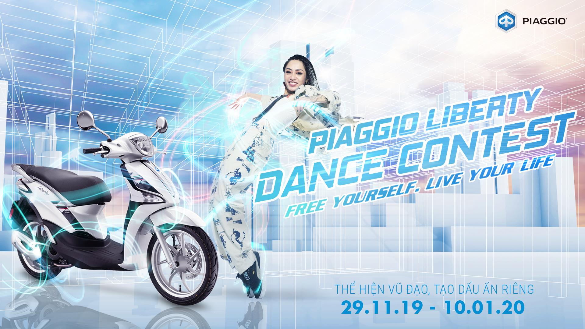 Piaggio Liberty Dance Contest – Cuộc thi nhảy siêu hot với tổng giá trị giải thưởng lên tới hơn 100 triệu đồng chính thức khởi tranh - Ảnh 1.