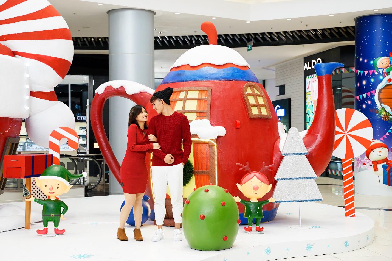 Khám phá ngôi làng Ông già Noel lần đầu có mặt tại AEON MALL Long Biên - Ảnh 4.