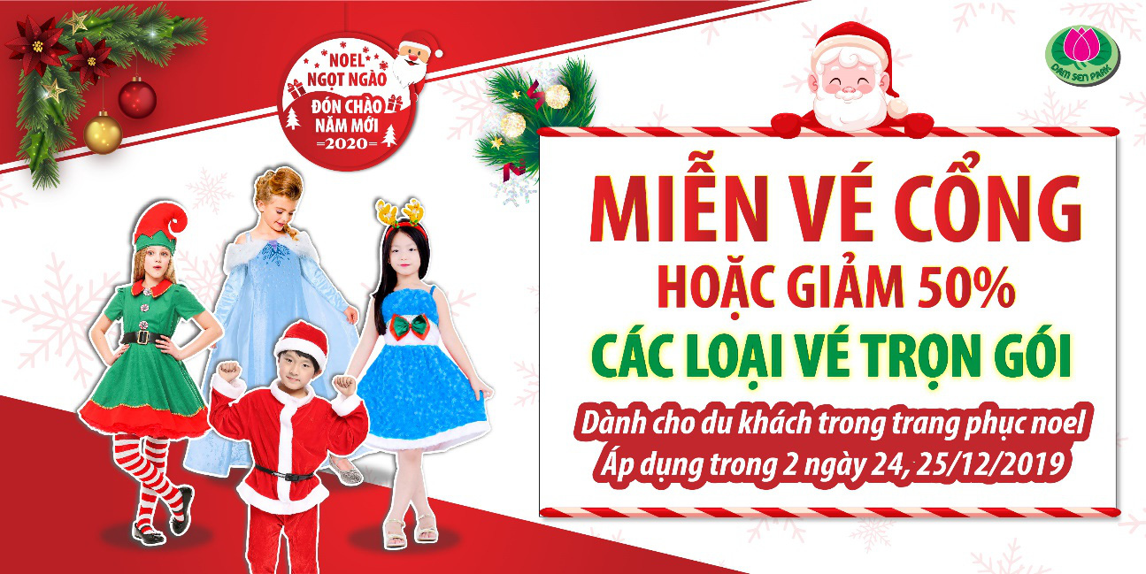 Check in không gian Giáng sinh triệu view tại Đầm Sen - Ảnh 4.