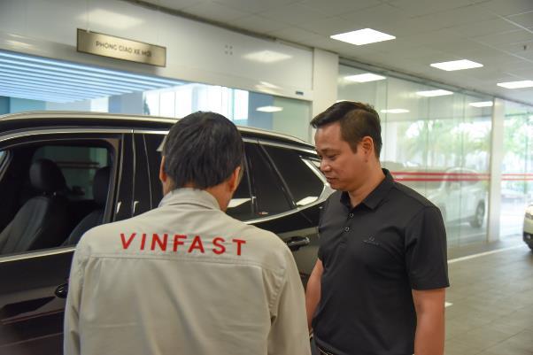 """Trải nghiệm một giờ làm """"thượng đế"""" của VinFast khi bảo dưỡng xe - Ảnh 2."""