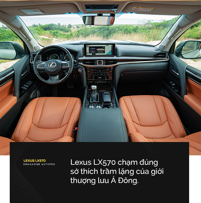 Lexus LX570 - Biểu tượng của giới thượng lưu Việt Nam - Ảnh 9.