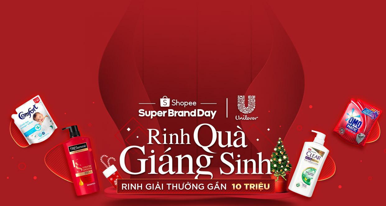 Cùng Unilever mua quà Giáng sinh, rinh giải thưởng gần 10 triệu đồng trên ứng dụng Shopee - Ảnh 1.