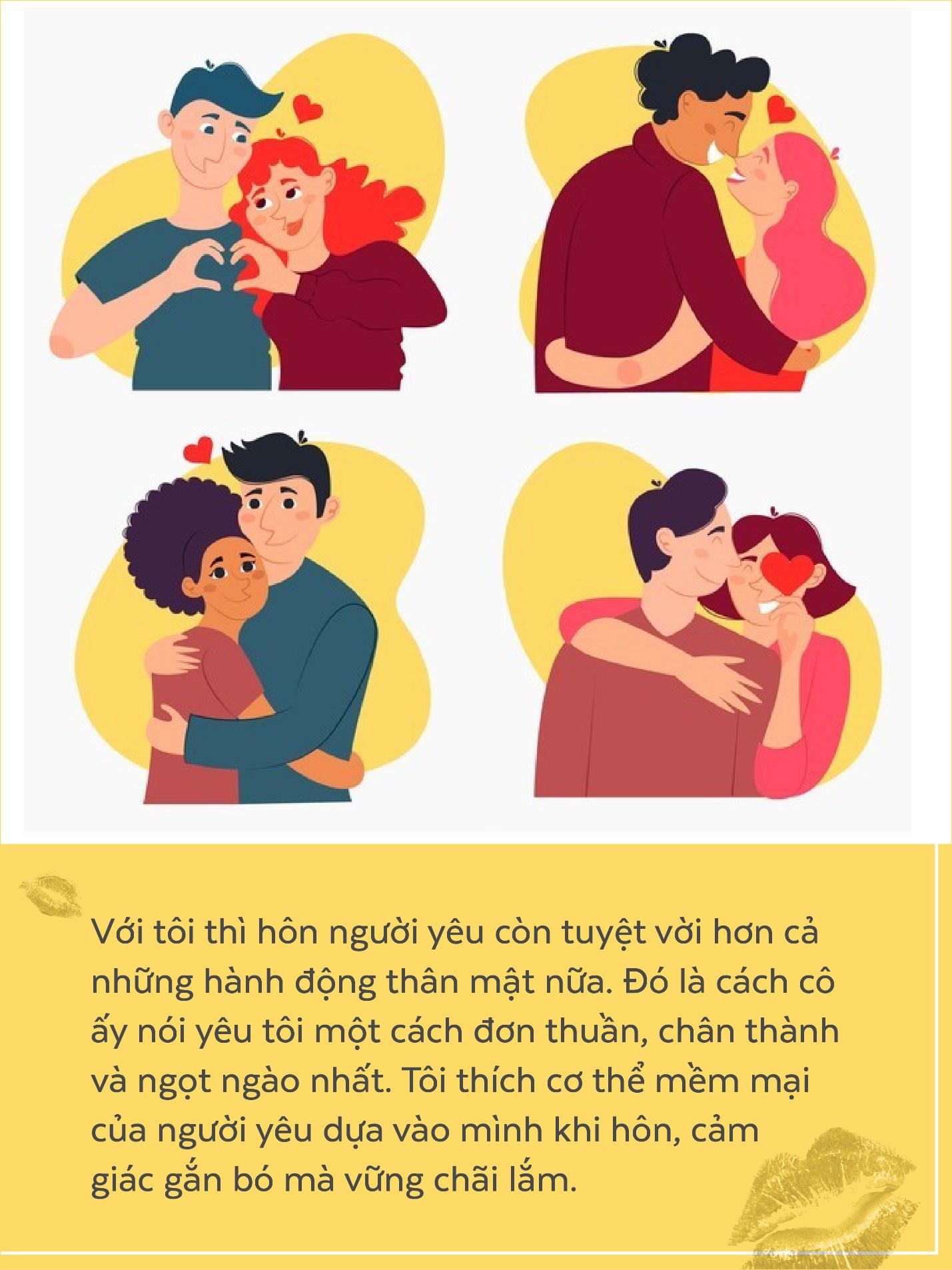 Nụ hôn đâu chỉ là cái chạm môi, với con trai, điều ấy còn ẩn chứa cả ngàn ý nghĩa - Ảnh 1.