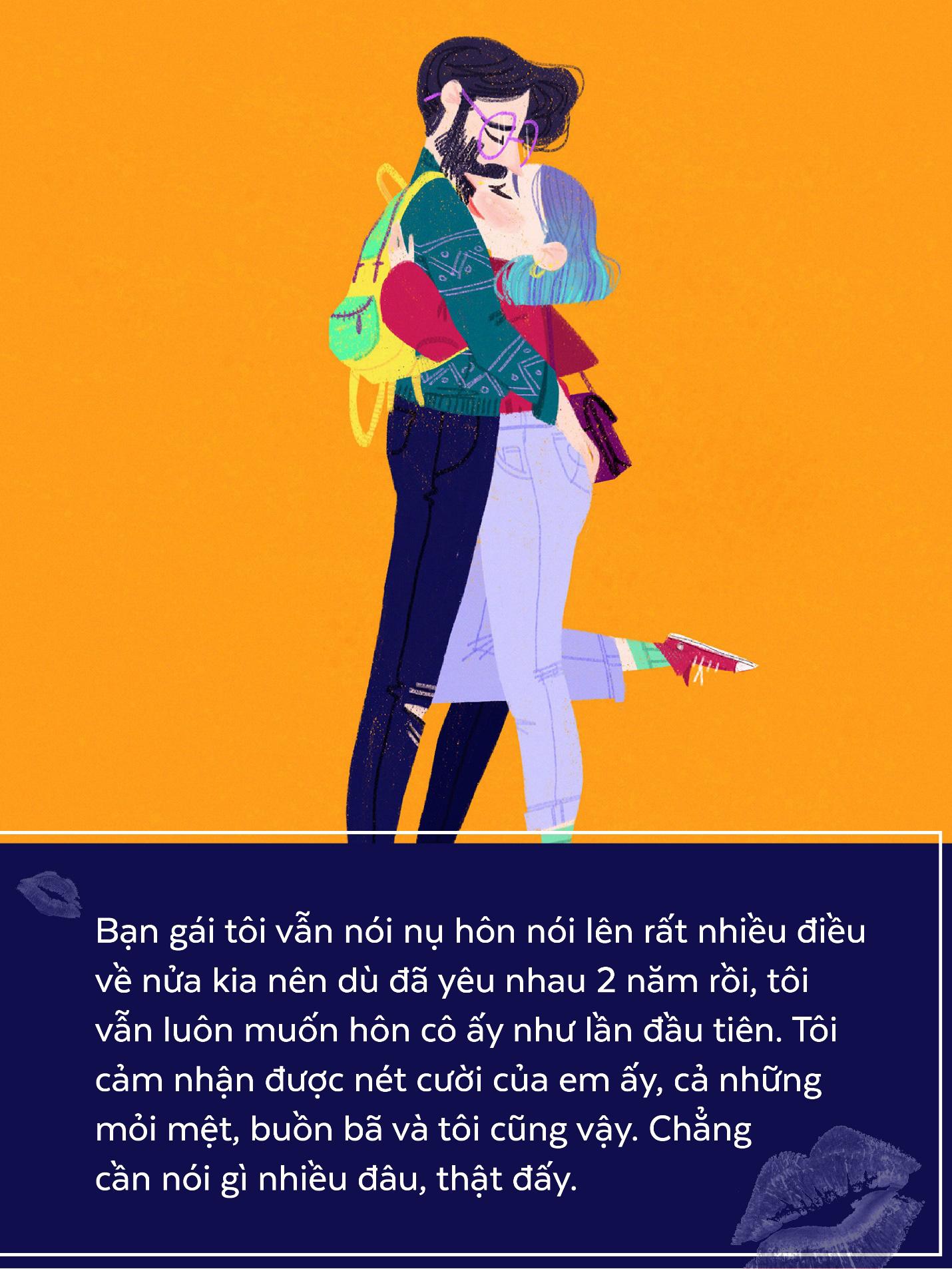 Nụ hôn đâu chỉ là cái chạm môi, với con trai, điều ấy còn ẩn chứa cả ngàn ý nghĩa - Ảnh 2.