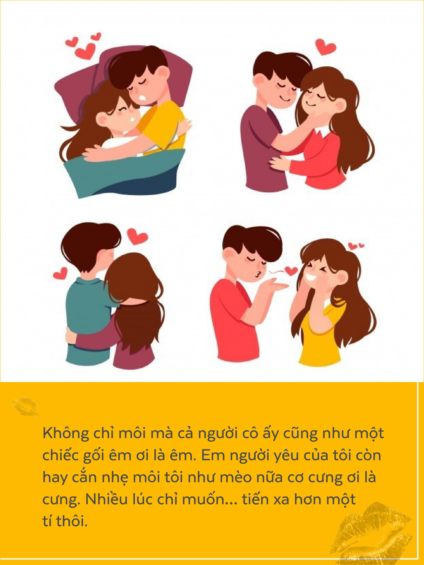 Nụ hôn đâu chỉ là cái chạm môi, với con trai, điều ấy còn ẩn chứa cả ngàn ý nghĩa - Ảnh 5.