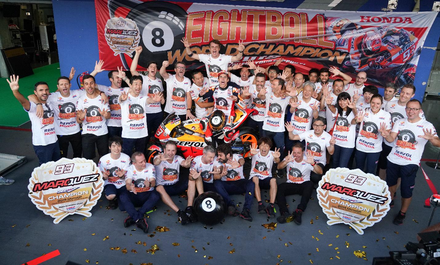 Honda chiến thắng tuyệt đối ở cả 3 danh hiệu mùa giải MotoGP 2019 - Ảnh 1.