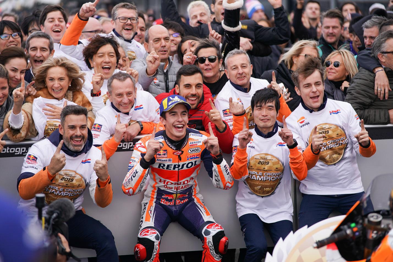 Honda chiến thắng tuyệt đối ở cả 3 danh hiệu mùa giải MotoGP 2019 - Ảnh 6.