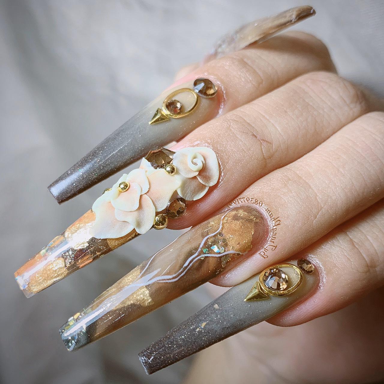 Bộ sưu tập nails sang trọng, đẳng cấp từ chuyên gia Trang Phạm - Ảnh 6.