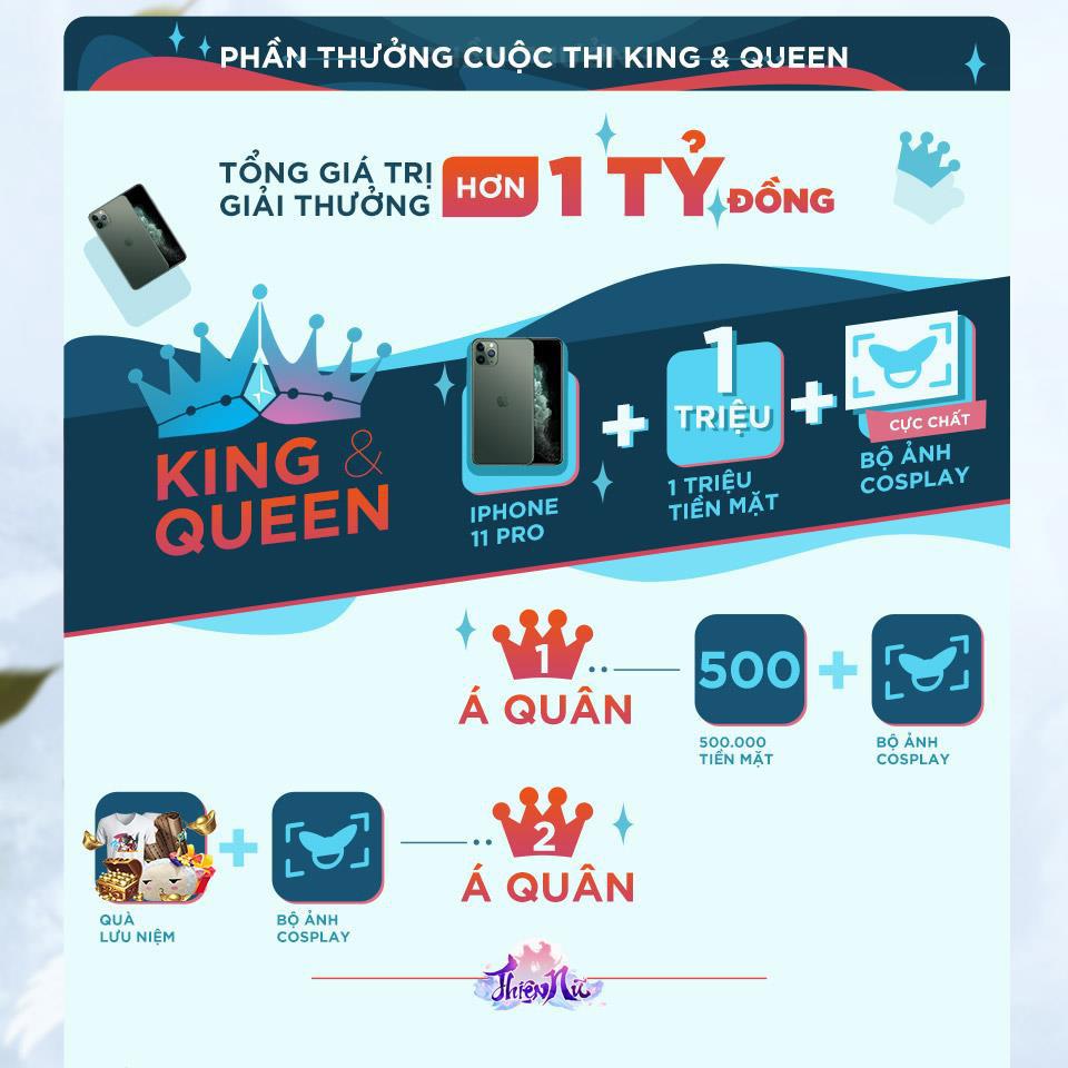 Mùa Giáng sinh ấm áp hơn khi cùng Thiện nữ mobile trở thành King & Queen - Ảnh 2.
