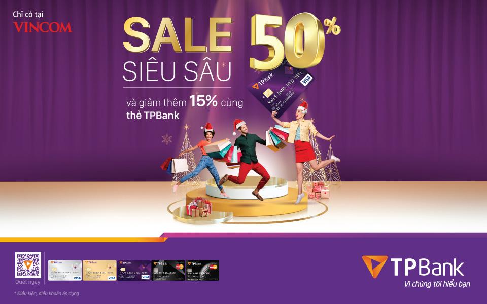 Săn sale cuối năm với giá ưu đãi 50%++ và hoàn thêm 15% cho chủ thẻ tín dụng TPBank - Ảnh 1.