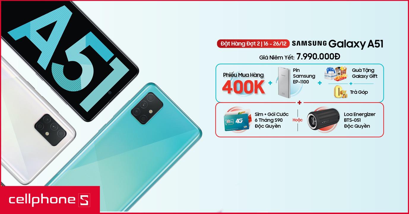Top 4 lý do khiến bạn nên sở hữu ngay Galaxy A51 dịp Tết sắp đến - Ảnh 7.