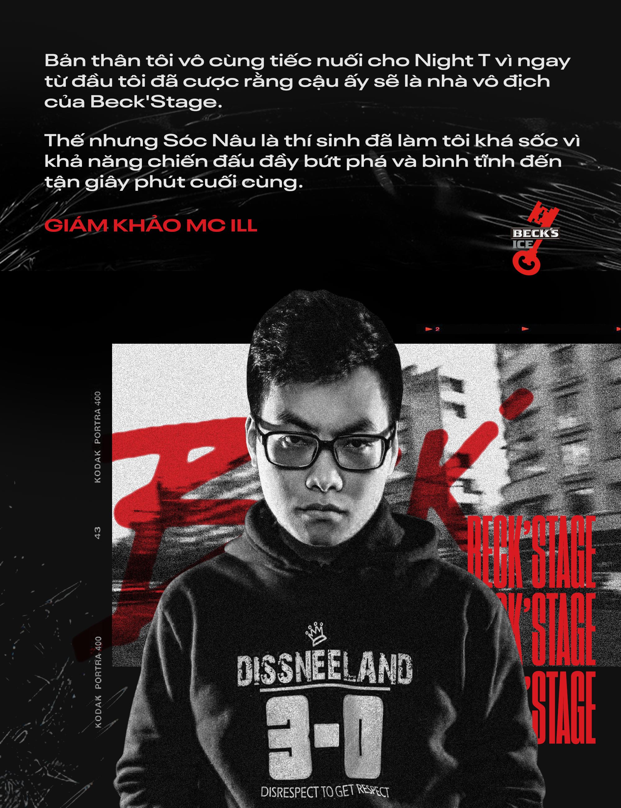 Ngôi vô địch BeckStage Battle Rap đã có chủ: Sóc Nâu và Phúc Du giành lấy ngôi vương đầy thuyết phục, một tương lai đầy hy vọng của rap Việt! - Ảnh 3.