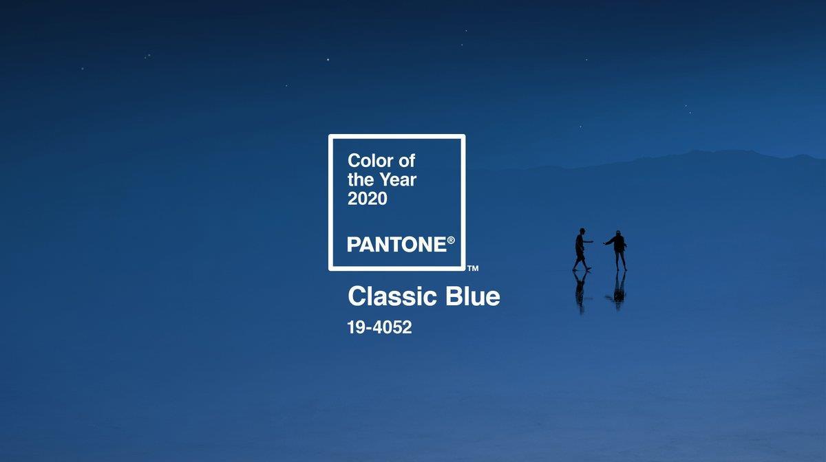 """Khi Pantone gọi tên classic blue màu của 2020: Sắc xanh cổ điển thời thượng mở đầu thập niên và thứ màu """"huyền thoại"""" của nhân loại - Ảnh 1."""