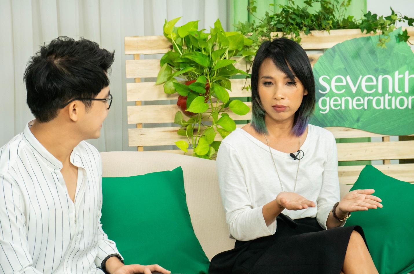 Giật mình với những chia sẻ của MC Thùy Minh về biến đổi khí hậu và sống xanh - Ảnh 3.