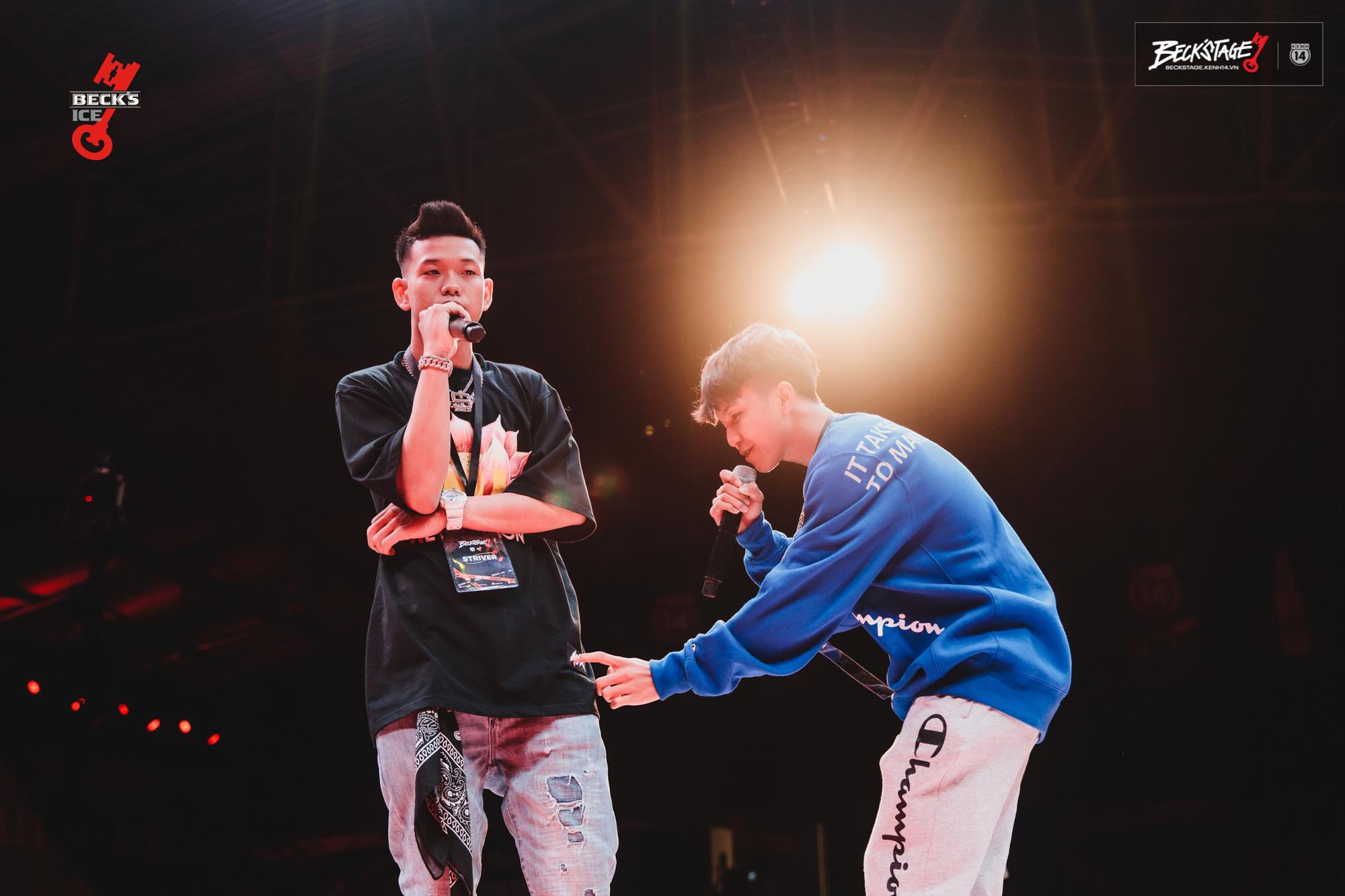 Ngôi vô địch BeckStage Battle Rap đã có chủ: Sóc Nâu và Phúc Du giành lấy ngôi vương đầy thuyết phục, một tương lai đầy hy vọng của rap Việt! - Ảnh 6.