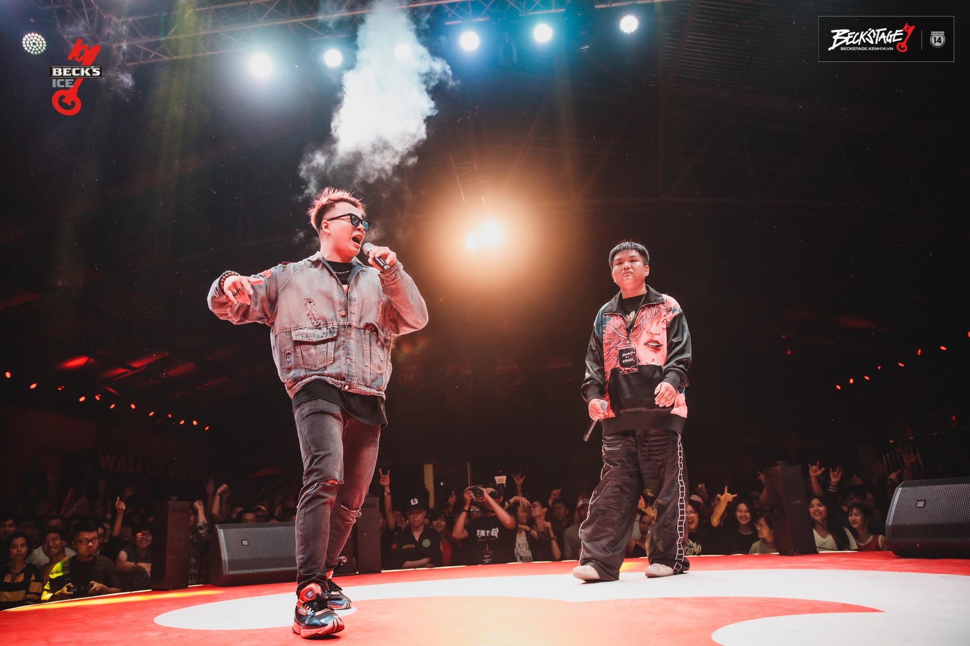 Ngôi vô địch BeckStage Battle Rap đã có chủ: Sóc Nâu và Phúc Du giành lấy ngôi vương đầy thuyết phục, một tương lai đầy hy vọng của rap Việt! - Ảnh 7.