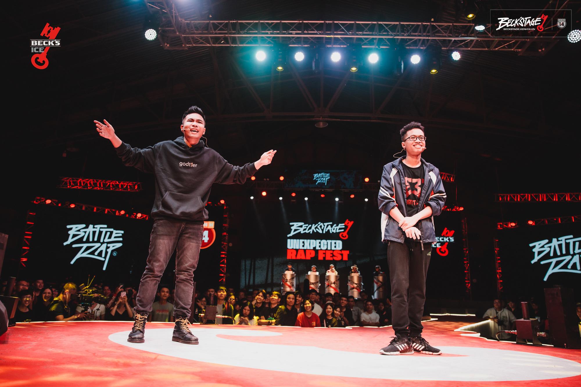 Ngôi vô địch BeckStage Battle Rap đã có chủ: Sóc Nâu và Phúc Du giành lấy ngôi vương đầy thuyết phục, một tương lai đầy hy vọng của rap Việt! - Ảnh 11.