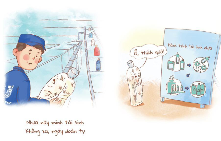 Câu chuyện về hành trình tái sinh của chai nhựa gây sốt cộng đồng mạng - Ảnh 6.
