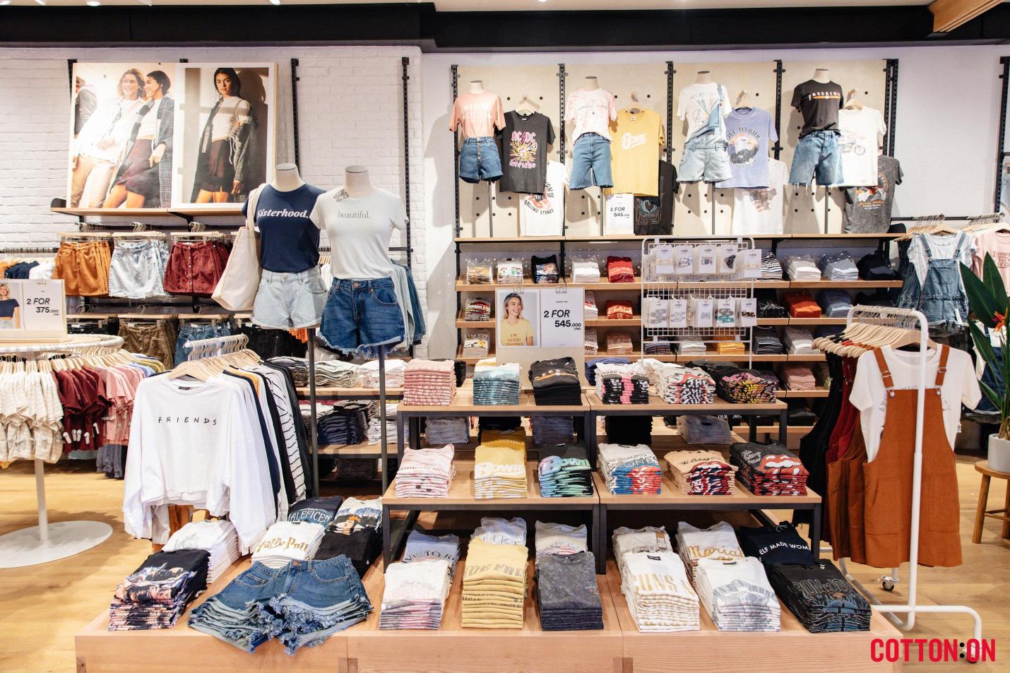 Bội thu với cửa hàng đầu tiên, Cotton On chính thức khai trương tại Hà Nội vào ngày 5/12/2019 - Ảnh 2.