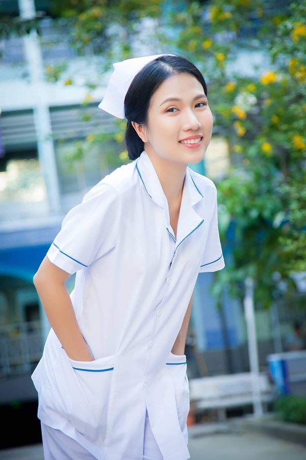 Sau Cua lại vợ bầu, diễn viên Thùy Dương chuyển hẳn sang làm y tá trong Nắng 3 - Ảnh 4.