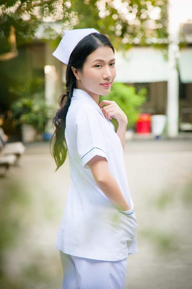 Sau Cua lại vợ bầu, diễn viên Thùy Dương chuyển hẳn sang làm y tá trong Nắng 3 - Ảnh 5.